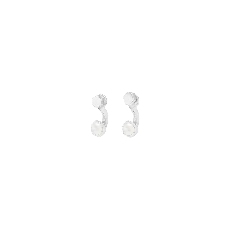 Uno de 50 Meant to Be Earrings Silver