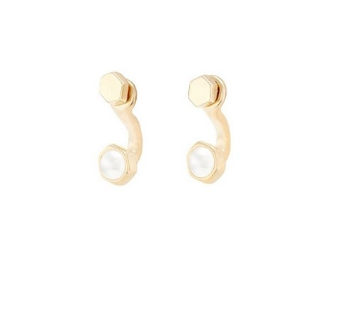 Uno de 50 Meant to Be Earrings Gold