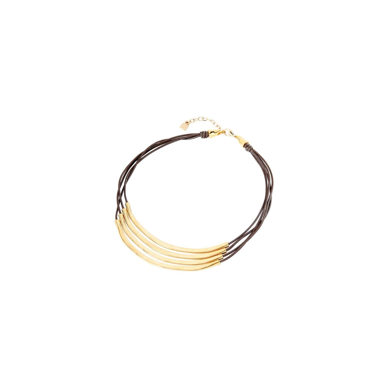 Uno de 50 Double Balance Necklace Gold