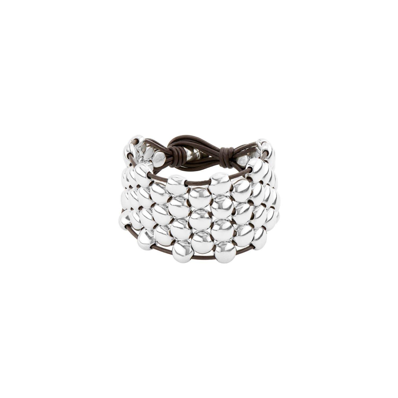 Uno de 50 Emotions Bracelet Silver M