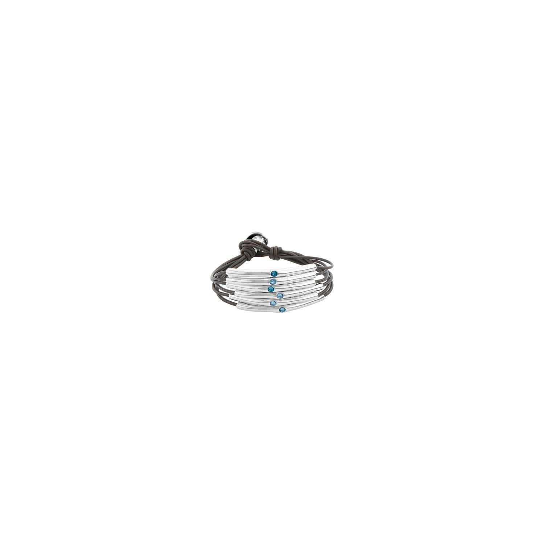 Uno de 50 Happy Blue Bracelet L