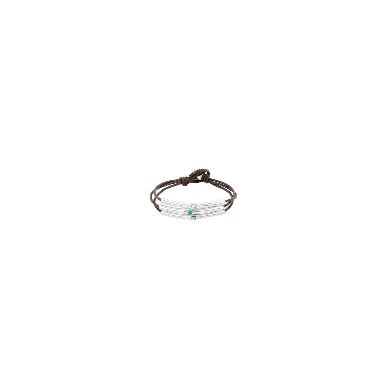 Uno de 50 Blueberries Bracelet Silver M