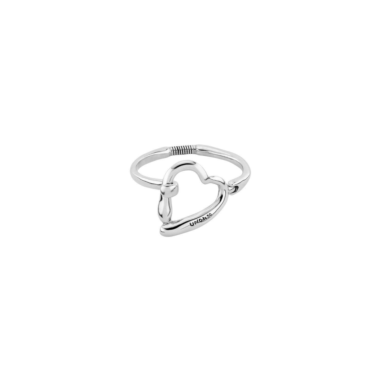 Uno de 50 Heartbeats Bracelet Silver L