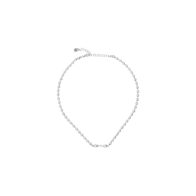 Uno de 50 Pick 1 Necklace Silver