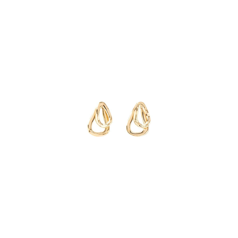 Uno de 50 Connected Earrings Gold