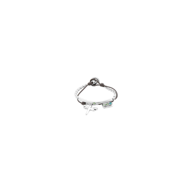 Uno de 50 Happy Go Lucky Bracelet Silver M