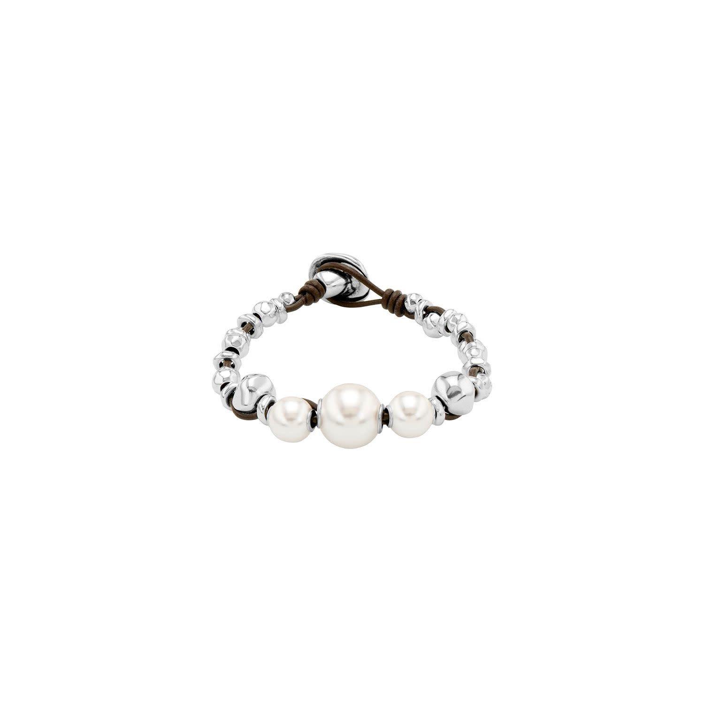 Uno de 50 Flighty Bracelet Silver M