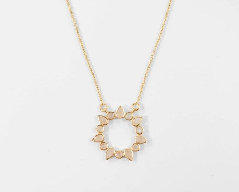 Athena Necklace - Moonstone