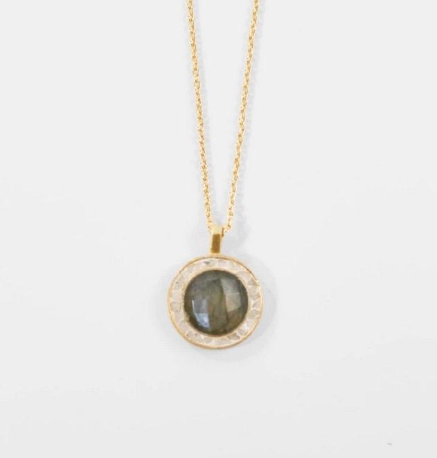 Betsy's Favorite Pendant Necklace - Labradorite