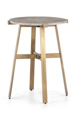 Aline Nightstand - Taupe Marble