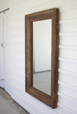Recycled Wood Frame Mirror - 31 x 51