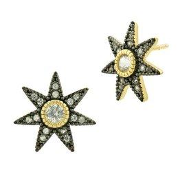 Freida Rothman Stellular Studs Gold