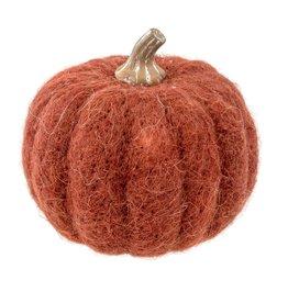 Felt Pumpkin Russet Large