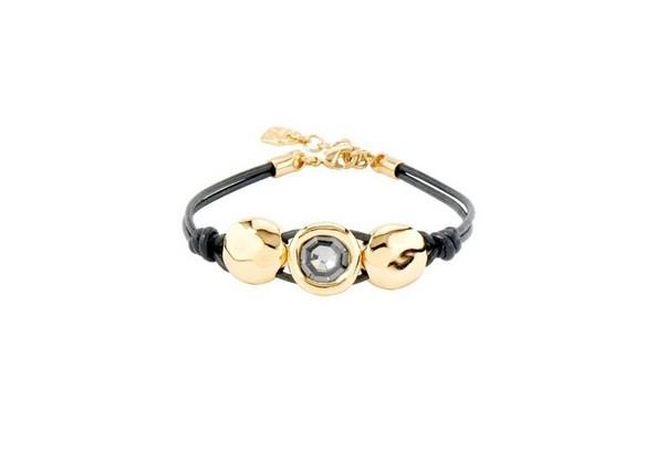 Uno de 50 Too Much Bracelet Gold Grey M