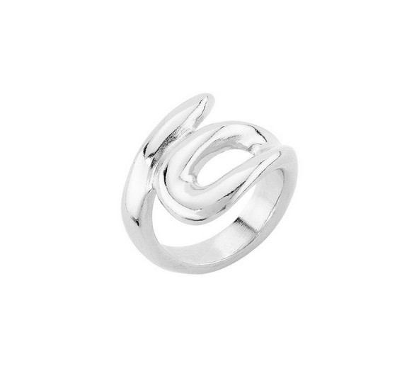 Uno de 50 Tangled Ring Silver