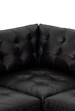Lexi 3 Piece Sectional Sonoma Black