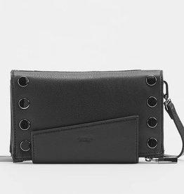 Hammitt Levy Crossbody Wallet Black Zip
