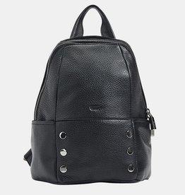 Hammitt Hunter Leather Backpack Black Large
