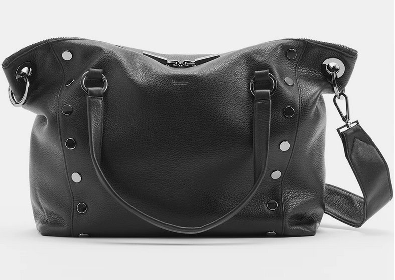 Hammitt Daniel Leather Tote Black Medium