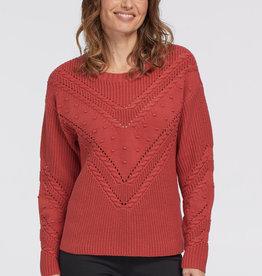 Tribal Sweater w/ Pom Pom Brick