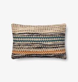 Woven Accent Pillow Orange/Blue