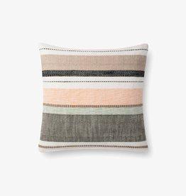 Striped Pillow Multi/Blush - 18 x 18