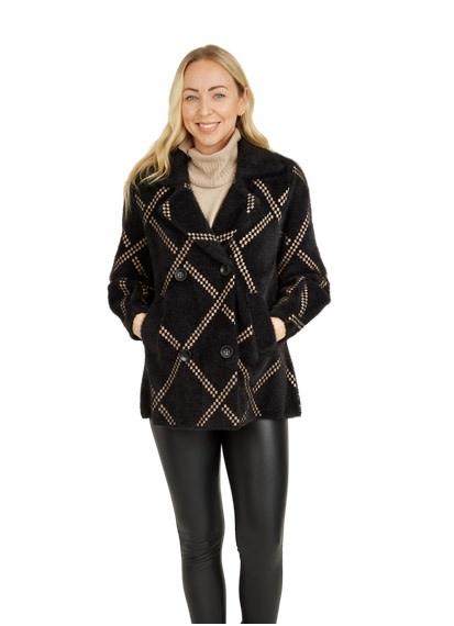 Clara Coat Black