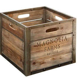 Magnolia Home Magnolia Farms Large Produce Crate