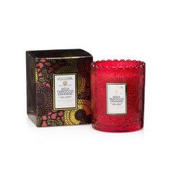 Voluspa Scalloped Candlepot Goji & Tarocco Orange