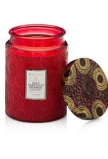 Voluspa Goji & Tarocco Orange Large Embossed Jar Candle