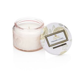 Voluspa Petite Embossed Jar Candle Japonica Limited Panjore Lychee