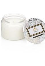 Voluspa Petite Embossed Jar Candle Japonica Limited Mokara