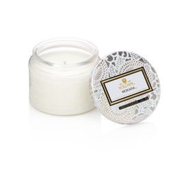 Voluspa Petite Embossed Jar Candle Japonica Limited Mokara