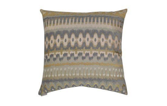 Malabar Pillow - Pewter 24 x 24