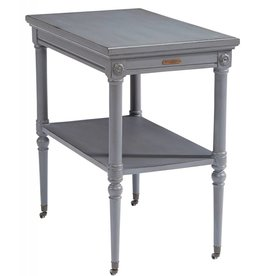 Magnolia Home Petite Rosette Side Table - French Grey