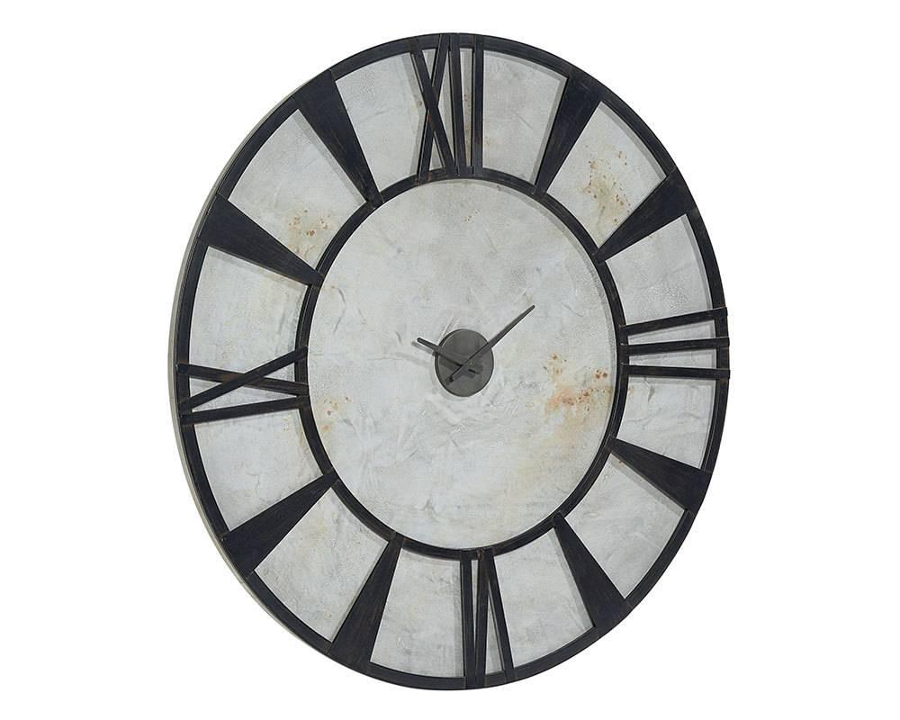 Magnolia Home Metal Industrial Wall Clock