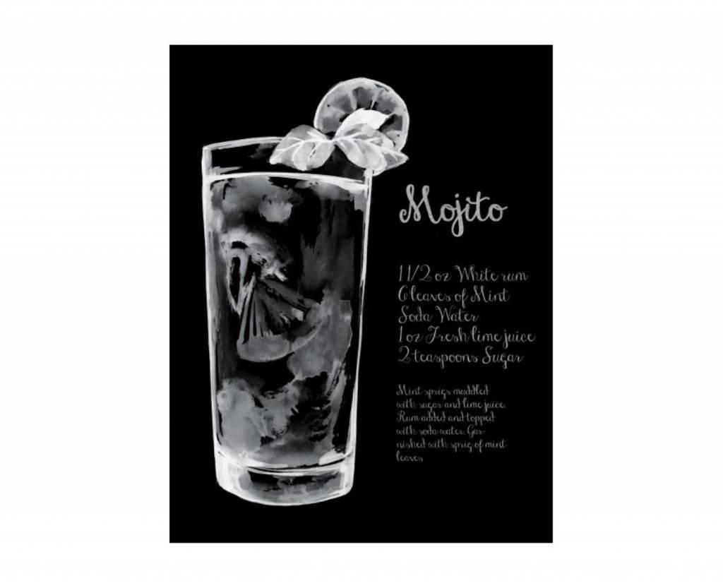 Cocktail Art Mojito 20 x 26