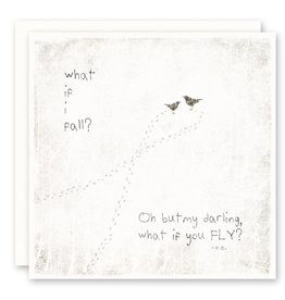 'what if...' Greeting Card