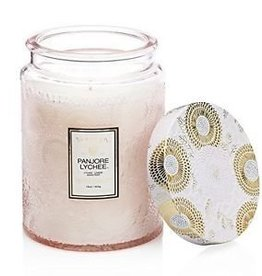 Voluspa Large Glass Jar Candle Japonica Limited - Panjore Lychee