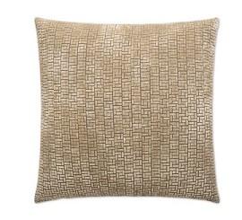 Jenga Pillow - Wheat 18 x 18