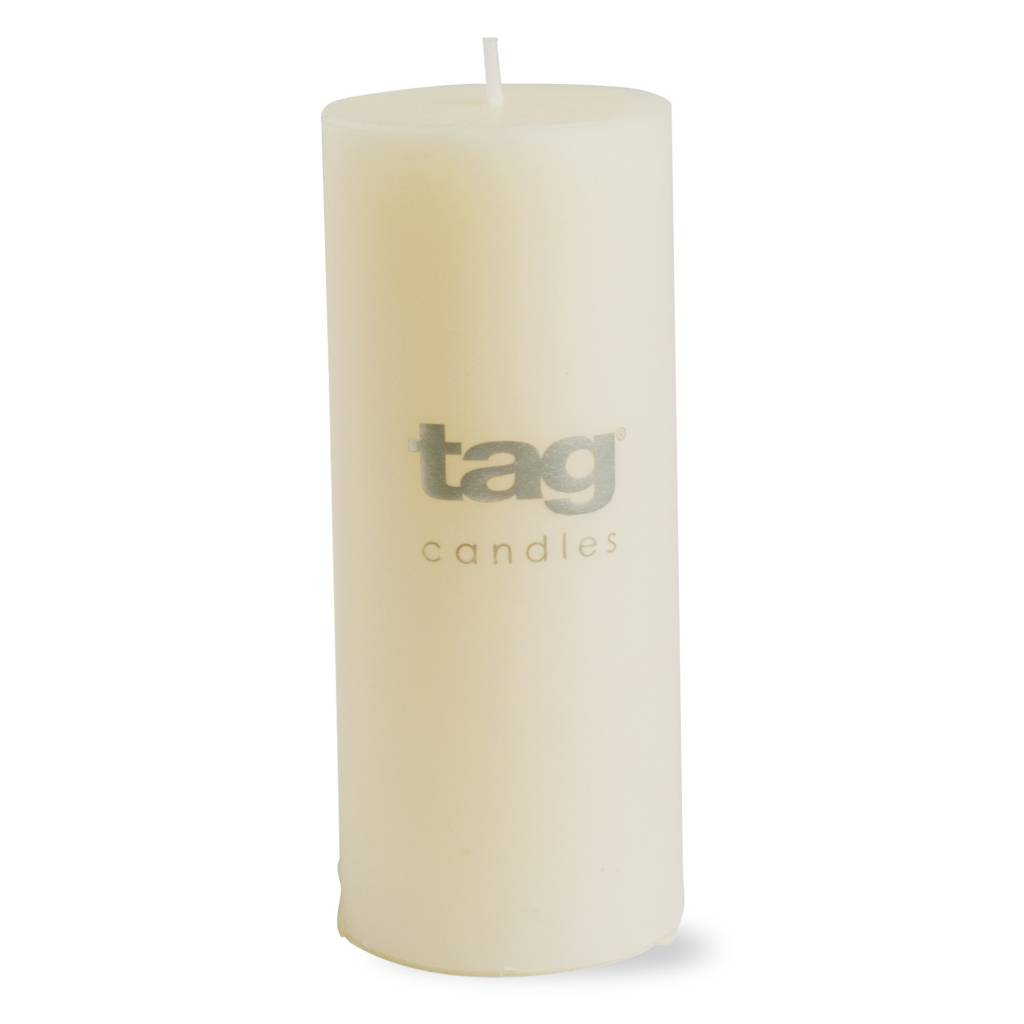Ivory Chapel Pillar Candle 2x5