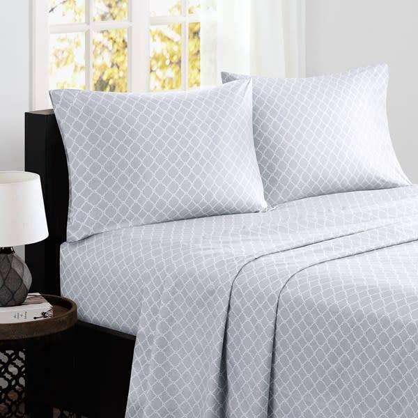Fretwork Cotton Sheet Set