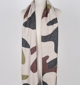 Soft Camouflage Scarf