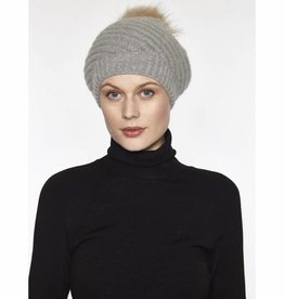Linda Richards Twirl Hat with Pom Pom