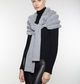 Linda Richards Rex Rabbit Scarf Cashmere/Wool