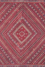 Magnolia Home Lucca Collection Red/Multi