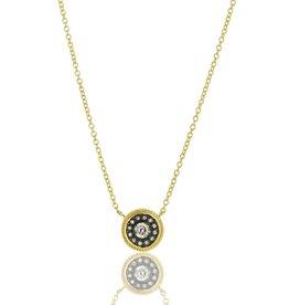 Freida Rothman Nautical Button Pendant Necklace