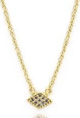 Freida Rothman Pave Harlequin Pendant Necklace
