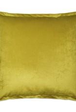 Belvedere Flange Pillow - Curry 20 x 20