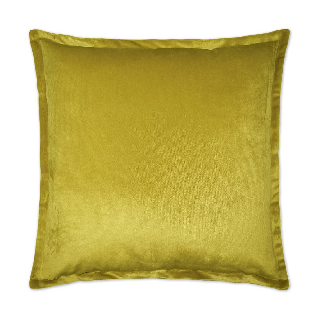 Belvedere Flange Pillow - Curry 20 x 20